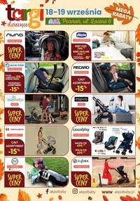 Gazetka promocyjna Akpol Baby - Targi dziecięce - Akpol Baby! - ważna do 19-09-2020