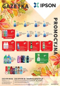 Gazetka promocyjna Ipson - Czystość i higiena na co dzień - Ipson! - ważna do 09-10-2020