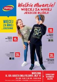 Gazetka promocyjna Pepco - Wielkie otwarcie Pepco w Warszawie - ważna do 24-09-2020