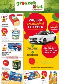 Gazetka promocyjna Groszek  - Najlepsze okazje w sklepach Groszek - ważna do 27-09-2020