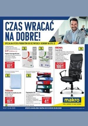 Gazetka promocyjna Makro Cash&Carry - Artykuły biurowe i szkolne w Makro