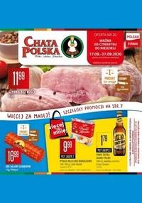Gazetka promocyjna Chata Polska - Blisko, lokalnie, naturalnie - Chata Polska! - ważna do 27-09-2020