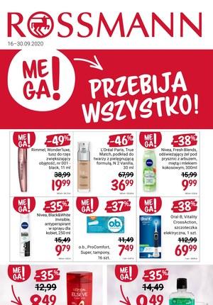 Gazetka promocyjna Rossmann - Mega promocje w Rossmannie!