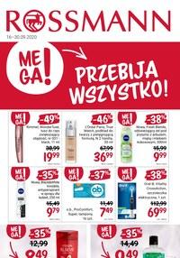 Gazetka promocyjna Rossmann - Mega promocje w Rossmannie! - ważna do 30-09-2020