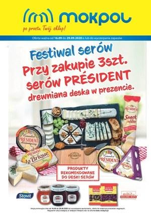 Gazetka promocyjna Mokpol - Festiwal serów w Mokpol!