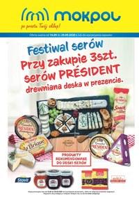 Gazetka promocyjna Mokpol - Festiwal serów w Mokpol! - ważna do 29-09-2020