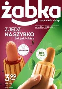 Gazetka promocyjna Żabka - Zjedź na szybko w Żabce! - ważna do 29-09-2020