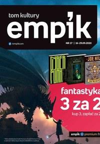 Gazetka promocyjna EMPiK - Fantastyka w Empik - ważna do 29-09-2020