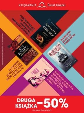 Świat książki - druga książka połowę taniej!