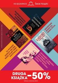 Gazetka promocyjna Księgarnie Świat Książki - Świat książki - druga książka połowę taniej! - ważna do 13-10-2020