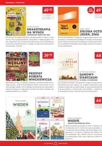 Gazetka promocyjna Księgarnie Świat Książki - Świat książki - druga książka połowę taniej!