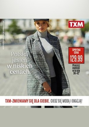 Gazetka promocyjna Textil Market - Polska jesień w niskich cenach z TXM!