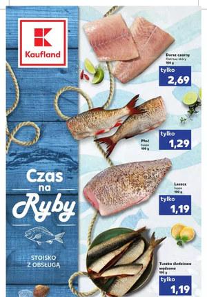 Gazetka promocyjna Kaufland - Czas na ryby w Kaufland!