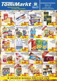 Gazetka promocyjna TomiMarkt - Nowa oferta TomiMarkt - ważna do 01-10-2020