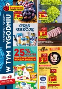 Gazetka promocyjna Biedronka - Codziennie niskie ceny w Biedronce - ważna do 23-09-2020