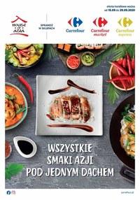Gazetka promocyjna Carrefour - Wszystkie smaki Azji Carrefour! - ważna do 30-09-2020
