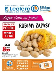 Robimy zapasy - E.leclerc Elbląg