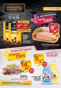 Gazetka promocyjna Spiżarnia Smakosza - Tniemy ceny - Spiżarnia Smakosza - ważna do 30-09-2020