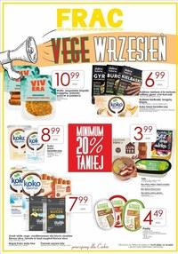 Gazetka promocyjna FRAC - Vege wrzesieńw sklepach Frac - ważna do 10-10-2020