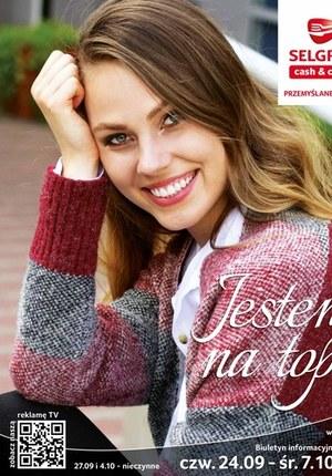 Gazetka promocyjna Selgros Cash&Carry - Modne ubrania w Selgros