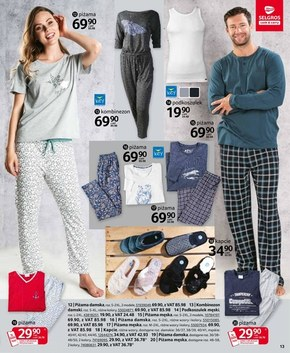 Modne ubrania w Selgros
