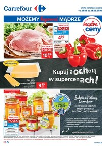 Gazetka promocyjna Carrefour - Kupuj z ochotą w Carrefour - ważna do 28-09-2020
