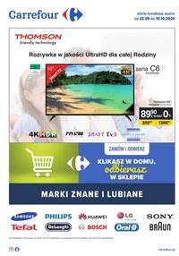 Gazetka promocyjna Carrefour - Lubiane i znane marki w Carrefour - ważna do 10-10-2020