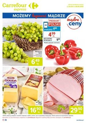 Gazetka promocyjna Carrefour Express - Mądre ceny w Carrefour Express