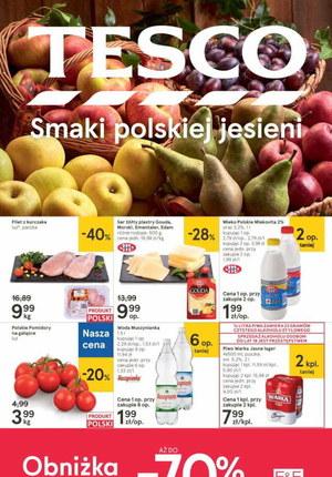 Gazetka promocyjna Tesco Centra Handlowe - Smaki jesieni w Tesco!