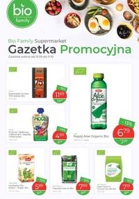 Gazetka promocyjna Bio Family - Gazetka Bio Family Supermarket - ważna do 11-10-2020