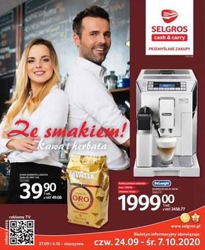 Kawa i herbata w Selgros