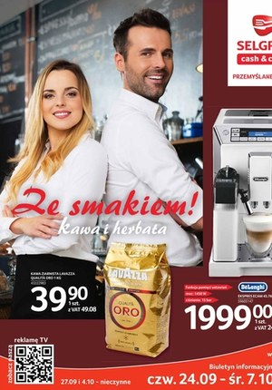 Gazetka promocyjna Selgros Cash&Carry - Kawa i herbata w Selgros