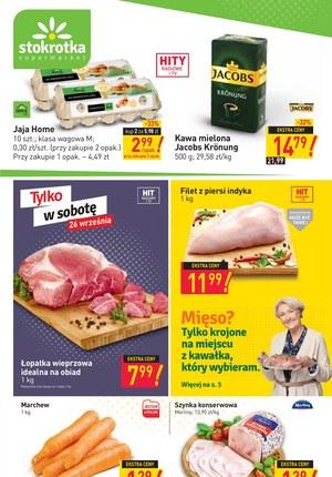 Gazetka promocyjna Stokrotka Supermarket - Świeża oferta Stokrotka Supermarket!