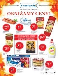 E.Leclerc - gazetka promocyjna Ostrowiec Świętokrzyski