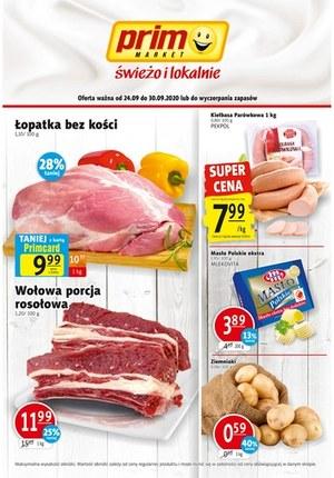 Gazetka promocyjna Prim Market - Świeżo i lokalnie Prim Market