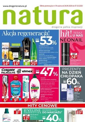 Gazetka promocyjna Drogerie Natura - Akcja regeneracja w Drogeriach Natura