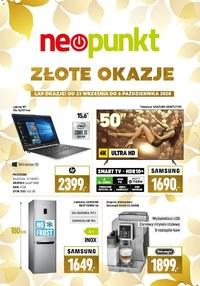 Gazetka promocyjna NEOPUNKT - Złote okazje w Neopunkt - ważna do 06-10-2020