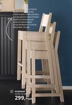 Stołek barowy IKEA