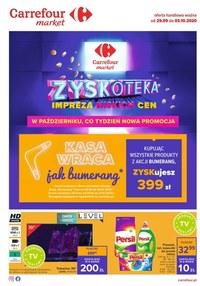 Gazetka promocyjna Carrefour Market - Impreza niskich cen w Carrefour Market - ważna do 03-10-2020