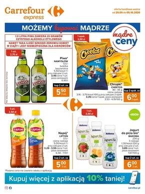 Tanie produkty w Carrefour Express