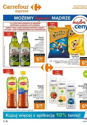 Gazetka promocyjna Carrefour Express - Tanie produkty w Carrefour Express