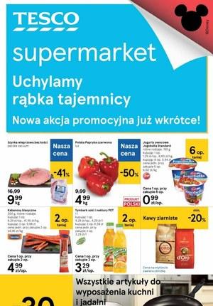Gazetka promocyjna Tesco Supermarket - Tesco - nowa akcja promocyjna
