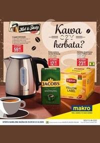 Gazetka promocyjna Makro Cash&Carry - Makro - kawa czy herbata - ważna do 12-10-2020