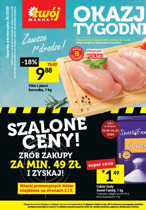 Gazetka promocyjna Twój Market - Szalone ceny w Twoim Markecie!