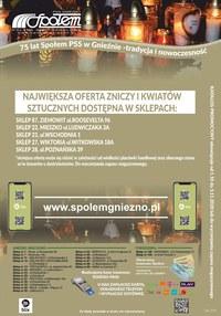 Gazetka promocyjna PSS Społem Gniezno - Akcja Znicz 2020 - Społem Gniezno