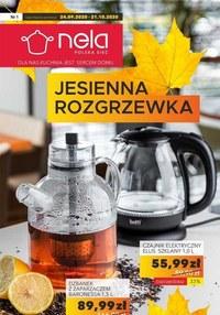 Gazetka promocyjna Nela - Jesienna rozgrzewka w Nela - ważna do 21-10-2020