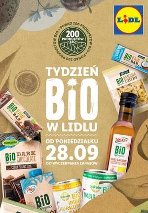 Gazetka promocyjna Lidl - Tydzień BIO w Lidlu