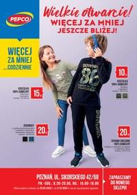 Gazetka promocyjna Pepco - Pepco - Wielkie otwarcie w Poznaniu - ważna do 05-10-2020
