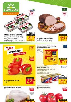 Gazetka promocyjna Stokrotka Market - Produkty w niskich cenach w Stokrotce Market!