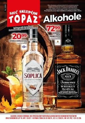 Gazetka promocyjna Topaz - Alkohole w Topaz